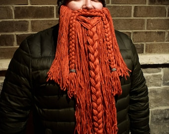 Viking Beard - available with or without hat