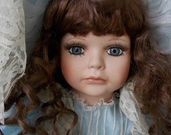 Porcelain doll for adoption - Yvonne