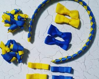 Custom Made School Hair Bow Accessory - Basic Pack