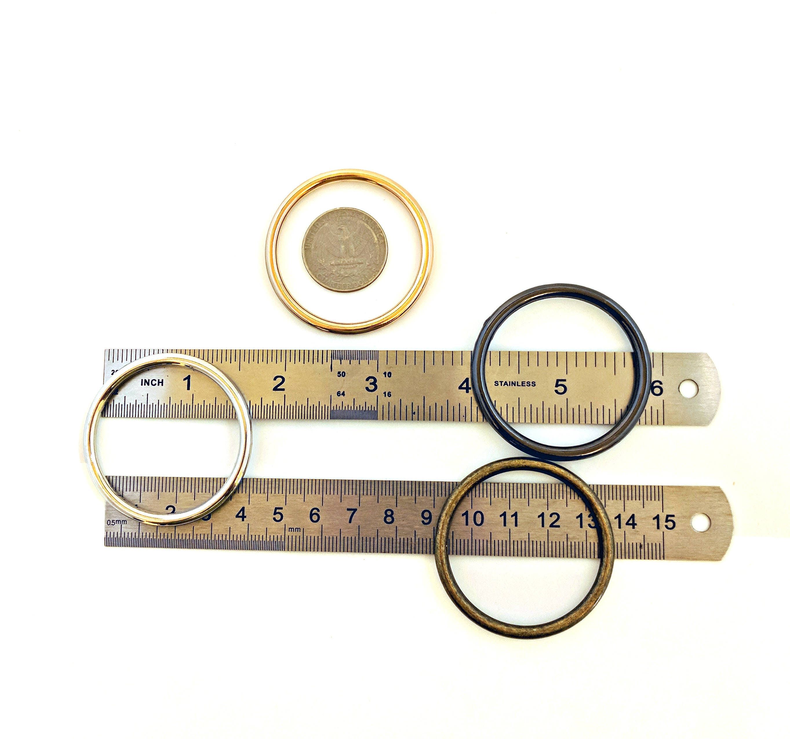 GOLD o-rings 40mm ID / One and One Half Inch o Rings / Gold O Ring ...