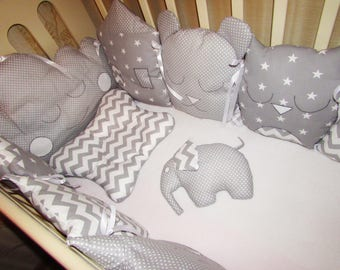 Bumper Baby Crib,Baby Bumper,Baby Gift,Newborn Baby Pillow,sleeping-Baby Bed,Baby Pillow,Sleep Transition,Luxury crib, Baby Cot Comforter