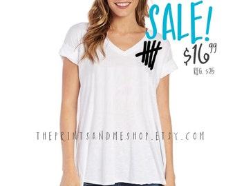 5 SECONDS OF SUMMER Shirt   5SOS Shirt