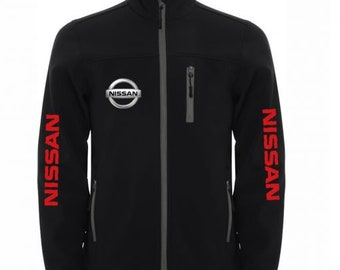 NISSAN Stylish Soft Shell Jacket Wind And Water Resistant