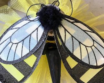 READY TO SHIP* bumblebee  / bee costume / tutu bee /toddler bee costume