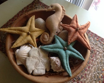 Sea Life Bowl Filler Set 5 piece set