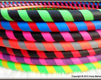Two Color 'UltraGrip' KIDDO Collapsible Hula Hoop - Our Most Durable & Affordable Kid's Hoop.