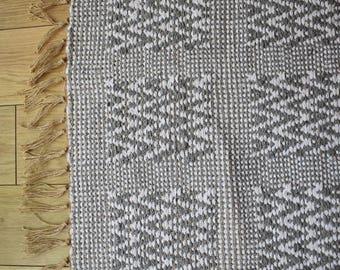 Grey Handwoven Rug