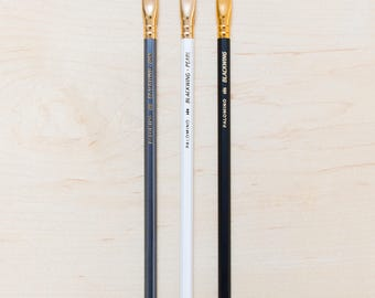 Blackwing Pencil Sampler Set Drawing and Writing Palomino Pencils Incense Cedar Wood Firm Graphite Gifts for Stationary Lovers Pearl 602