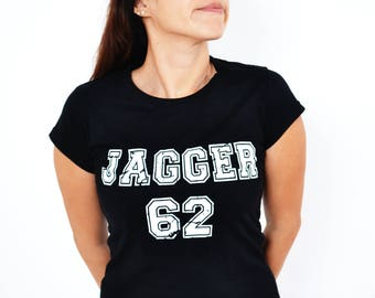 tee-shirt jagger 62 - rolling stones - mick jagger - one size (36-38)