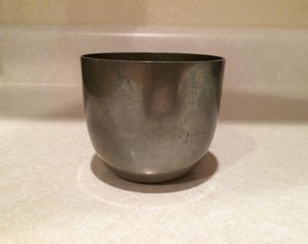 Vintage Pewter Jefferson Cup by Shirley