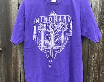 Purple Windhand Band Tee - doom - metal - purple - mens - womens -