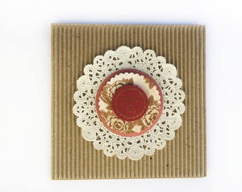 Handmade Card - Thank You