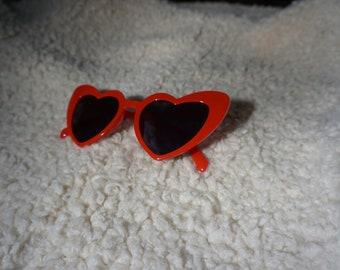 samali heart sunglasses
