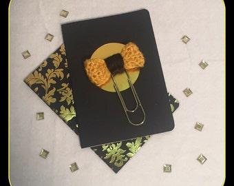 Crochet Bow Large Paper Clip