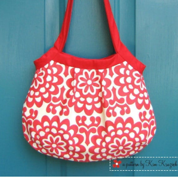 Purse Pattern - Pleated Penny Bag PDF Sewing Pattern - Purse Sewing ...