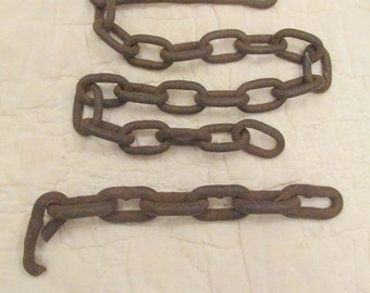Vintage Chain and hook SALE