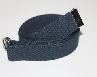Navy Blue Adjustable Belt for Children/Toddlers