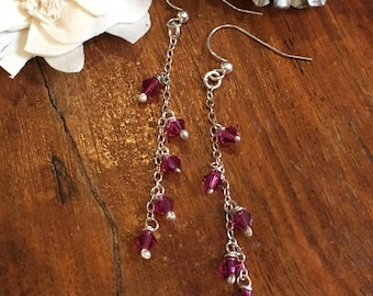 Glisten Waterfall Drop Earrings