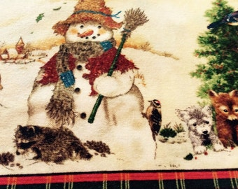 FROSTY THE SNOWMAN Fabric