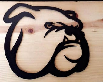 Bull Dog Wall Art