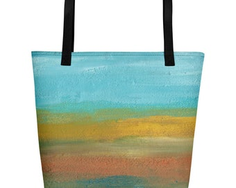 Sunset Beach Bag