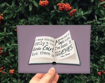Miss Honey Quote - inspired by Roald Dahl - digital download