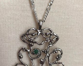 Frog Chatelaine by Thimbles by TJ Lane