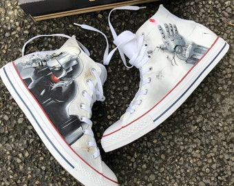 bb1da118c09b ... ireland fullmetal alchemist anime painted converse custom anime shoes  custom anime sneakers custom converse painted anime ...