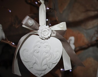 Scented plaster heart