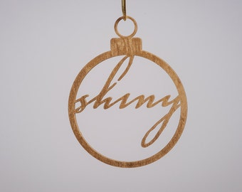 Shiny Christmas tree Decoration - firefly and serenity inspired