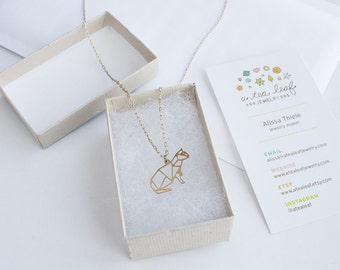 Kitty Cat Necklace | ATL-N-147