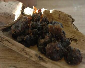 Guggul (black myrrh) - resin