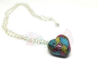 Sally Nightmare Before Christmas Heart Necklace - Jewelry