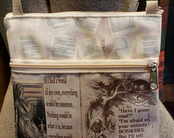 Alice in Wonderland Travel Purse -  Free Shipping