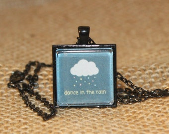 Dance in the Rain Photo Necklace- Jewelry for a Cause