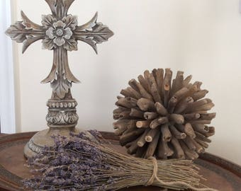Decorative Cross, Standing Cross, Table Decor, Religious Cross, Crucifix, Christian Decor