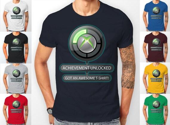 Xbox Achievement Icon Symbol Gamer Gaming Tee shirt T-Shirt