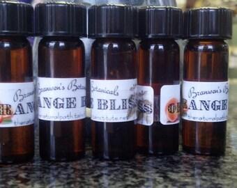Orange Bliss - Organic Handblended Botanical Perfume