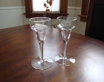 Princess House Heritage Hurricane Candle Stands!