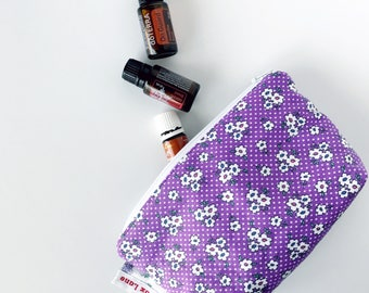 Lilac Floral Essential Oil Bag