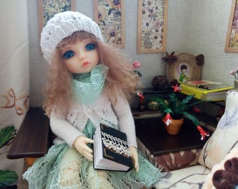 """Littlefee YOSD 25-26 сm BJD Set """"Openwork spring"""" and for dolls of similar format"""