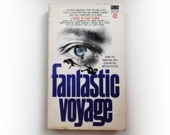 Isaac Asimov - Fantastic Voyage - Corgi science fiction vintage paperback book - 1969