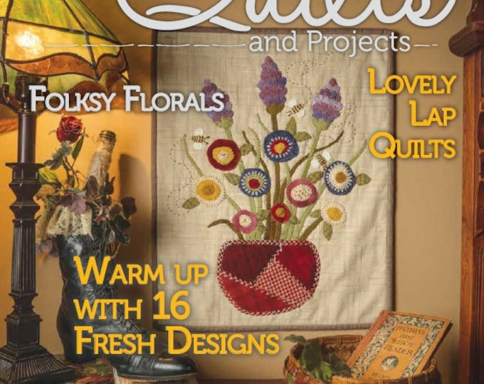 Magazine: Spring 2018 Primitive Quilts and Projects