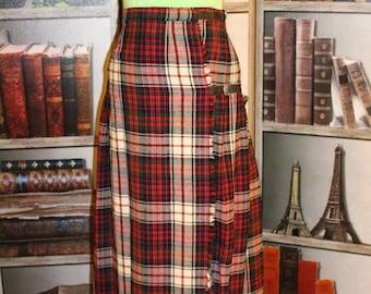 Authentic Scottish Wrap Kilt