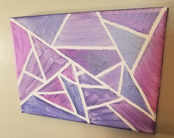 5x7 Color Shifting Modern Painting