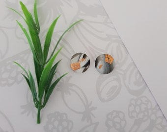 Classic Studs ~ Polymer Clay Studs ~ Earrings ~ Statement Earrings ~Ladies Earrings