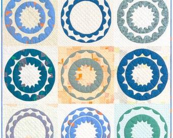 Rin quilt kit feat. Friedlander by Carolyn Friedlander
