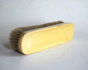 Vintage French Ivory, Celluloid, Bakelite Hand Brush
