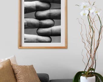 Compilation Print.  Black and White Photography, print, decor, wall art, artwork, large format photo.