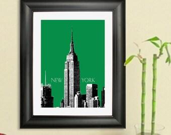 Skyline New York City Poster - Empire State Building Art Print